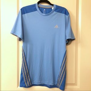 EUC Adidas Climacool Work Out/Fitness Shirt